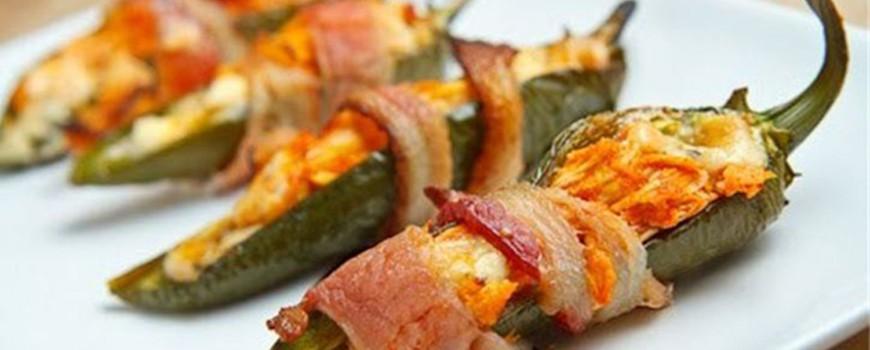 Recept: Ljute papričice sa sirom i slaninom
