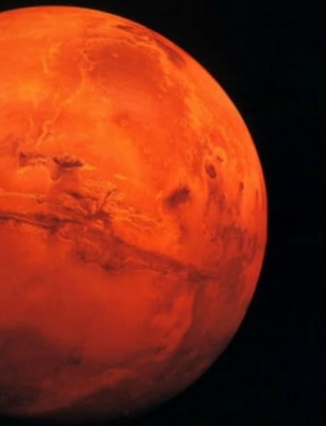 Kjurositi je otkrio vodu na Marsu