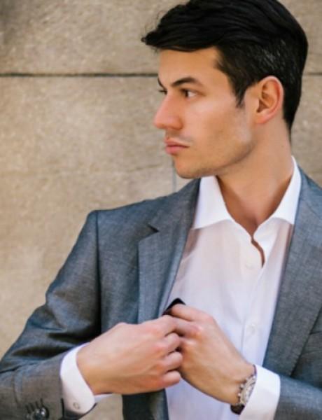 Rancco modni predlog: Sivi laneni sako