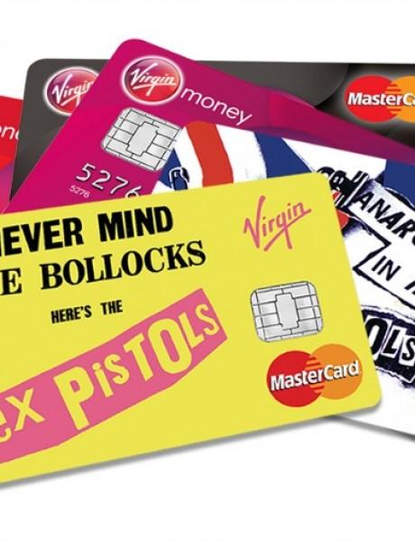 """Sex Pistols"" na kreditnim karticama"