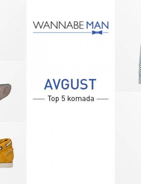 Top 5 muških modnih komada za avgust