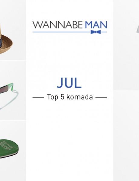 Top 5 muških modnih komada za jul