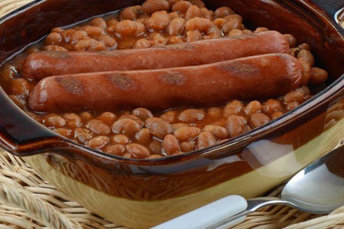 pasulj sa kobasicama wannabe man Muški recept: Zapečeni pasulj sa kobasicama