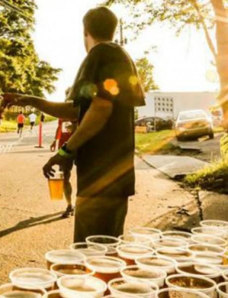 Nova sportska disciplina: Trčanje za pivo