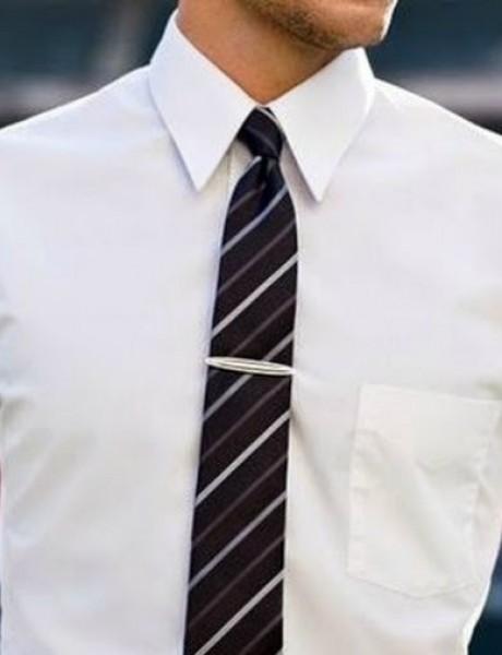 Trendi kombinacije bele košulje i kravate