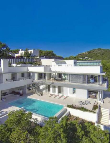 Arhitektura luksuza sa pogledom na Ibicu