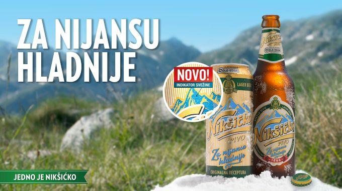 niksicko pivo 1 Zgodna inovacija Nikšičkog Piva za vrele dane
