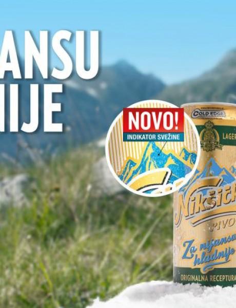 Zgodna inovacija Nikšičkog Piva za vrele dane