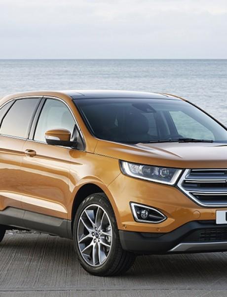 Ford u Frankfurtu premijerno predstavlja evropsku verziju modela Edge i novi Ranger