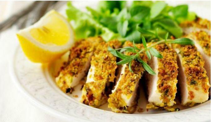 hrskava piletina iz rerne 1 Recept: Hrskava piletina iz rerne