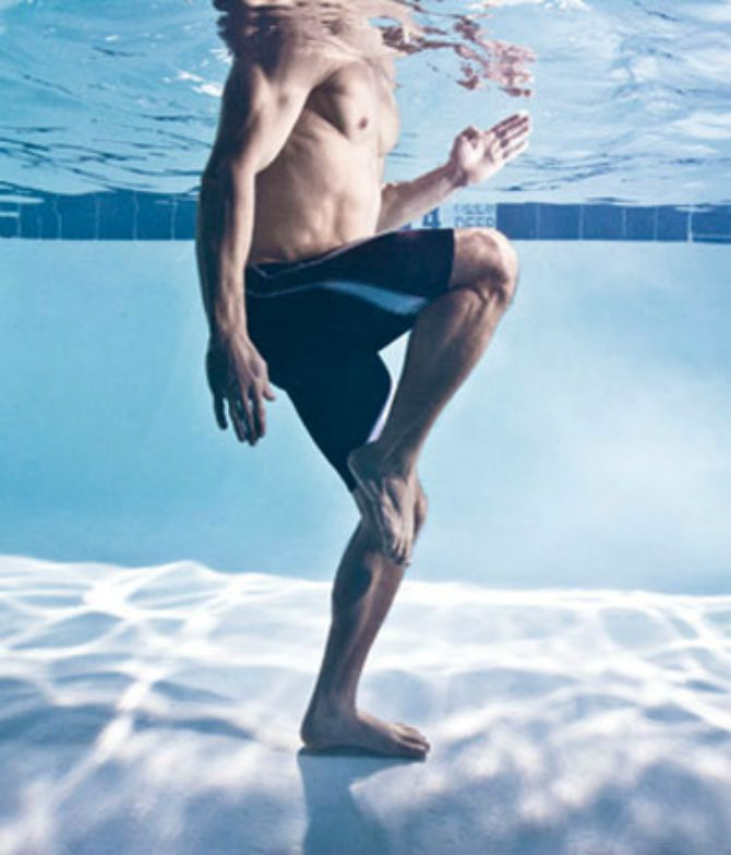 vezba u vodi Vežbe u vodi za telo kao izvajano