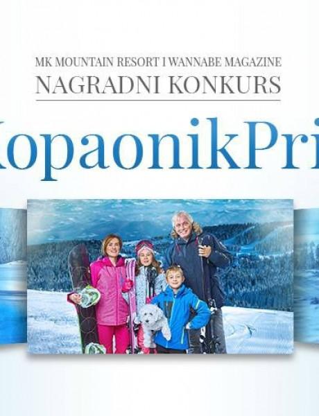MK Mountain Resort i Wannabe Magazine nagradni konkurs: #KopaonikPrica