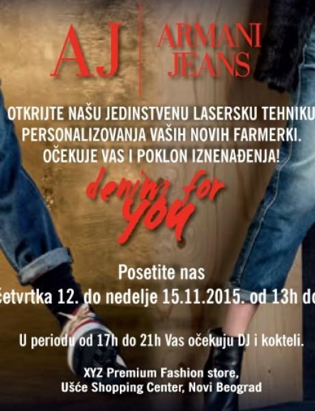 Casual stil s Armani Jeans potpisom