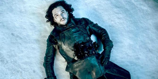 dzon snou smrt Dolazi zima, ali šesta sezona Igre prestola tek na proleće