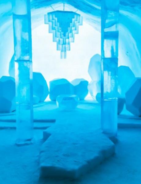 Otvoren je hotel napravljen od leda