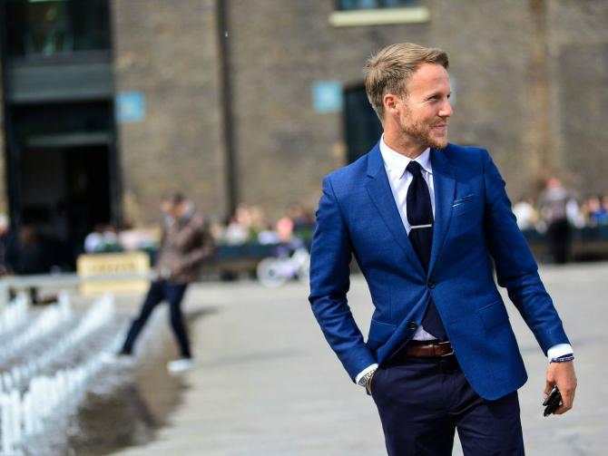 Plavo Kako da nosite ODELA u proleće