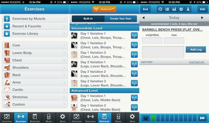 Aplikacija fitnessbuddy1 Aplikacije koje će POBOLJŠATI vašu fitnes rutinu