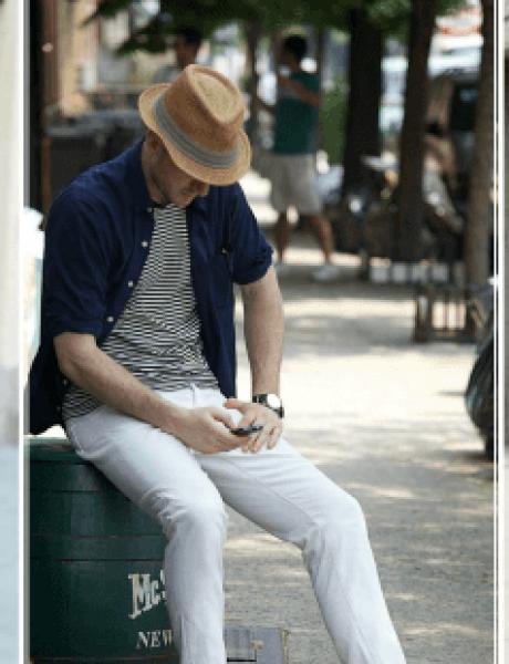 Kako da nosite BELE pantalone ove sezone