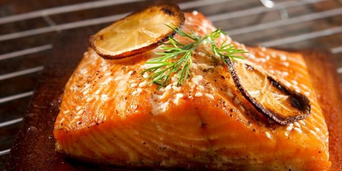 Masna riba losos Kako da izgledate MLAĐE uz pomoć hrane