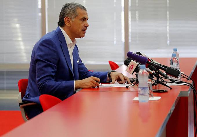Terzic konf Vesti iz sveta sporta: Božinov odgovorio Tomiću