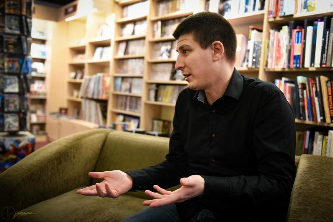 andrija jonic 2 Intervju: Andrija Jonić, autor romana Refren