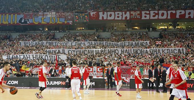 zvezda panatinaikos 341 1024x530 Vesti iz sveta sporta: Zvezda za nastavak serije, CSKA za fajnal for