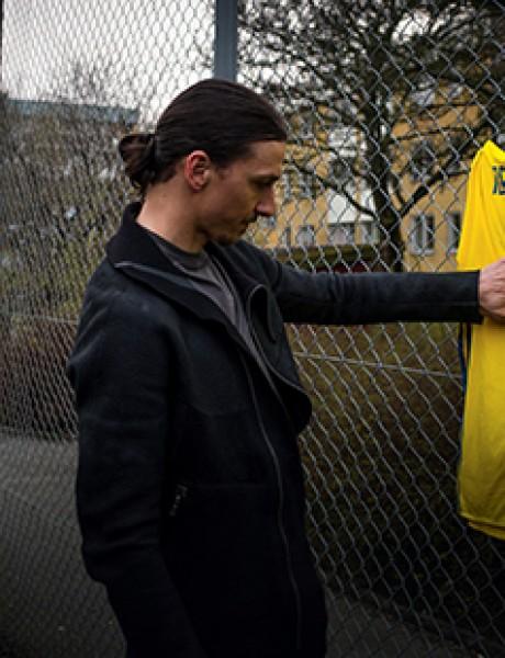 Zlatan Ibrahimović se oprostio od švedske reprezentacije