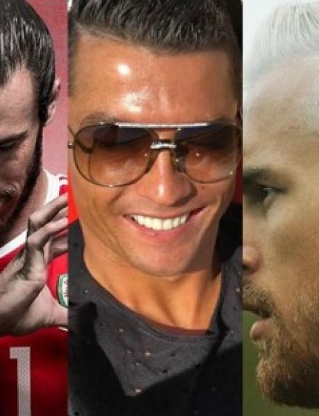 Najbolje frizure fudbalera ove sezone
