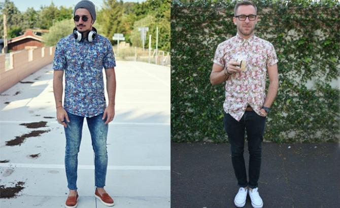 Trendi načini da nosite košulje sa zanimljivim dezenom3 Trendi načini da nosite košulje sa zanimljivim dezenom