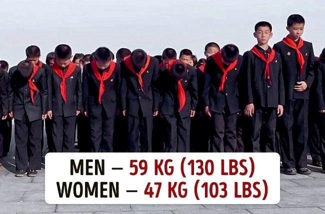 Koja je prosečna težina muškaraca i žena u različitim državama11 Koja je prosečna težina muškaraca i žena u različitim državama?