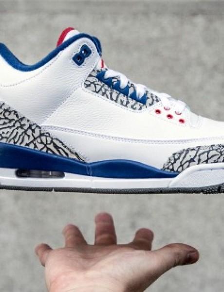 "Nike Air Jordan III Retro ""True Blue"" OG: Patike lagane kao vazduh"
