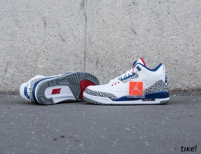 Nike Air Jordan III Retro True Blue OG 2 Nike Air Jordan III Retro True Blue OG: Patike lagane kao vazduh