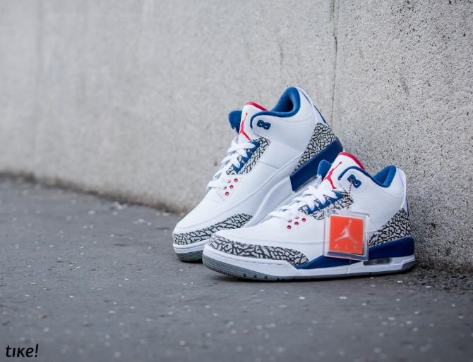Nike Air Jordan III Retro True Blue OG 3 Nike Air Jordan III Retro True Blue OG: Patike lagane kao vazduh