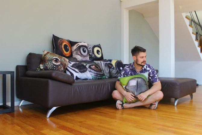 Animal Eye Pillow 1 Intervju: Velimir Kisić, grafički i multimedijalni dizajner