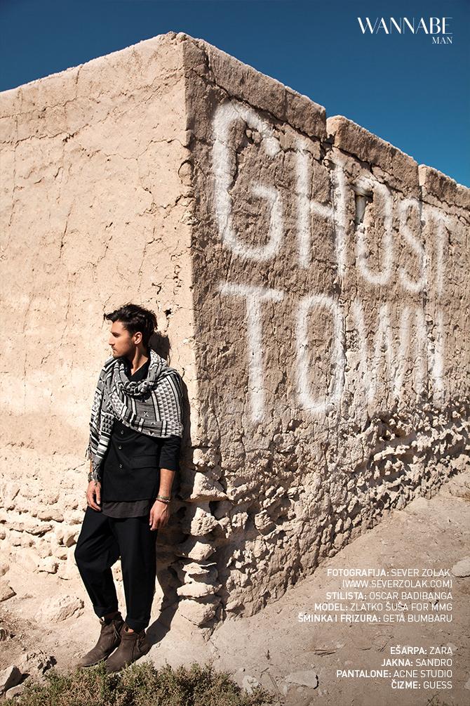 Wannabe Man Editorijal Decembar Naslovna Wannabe Man editorijal: Ghost Town