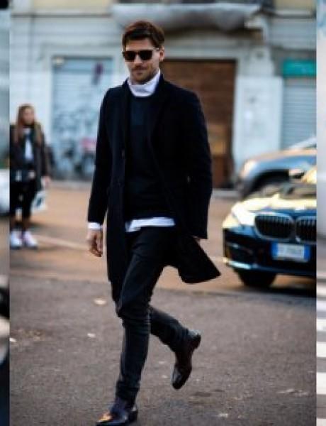 Street Style kombinacije sa muške Nedelje mode u Milanu
