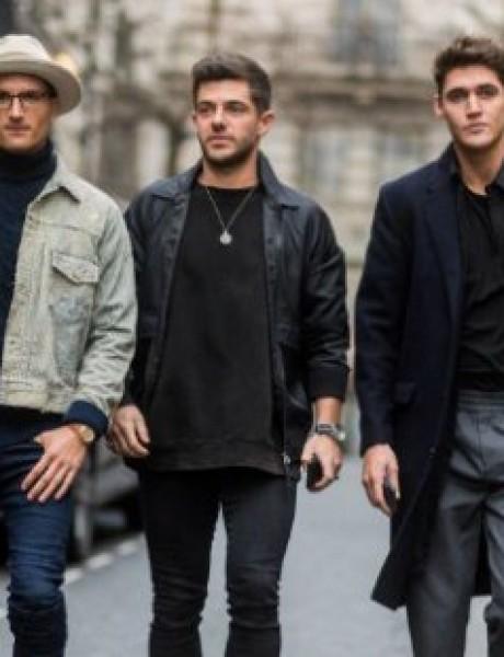 Street Style kombinacije sa muške Nedelje mode u Londonu