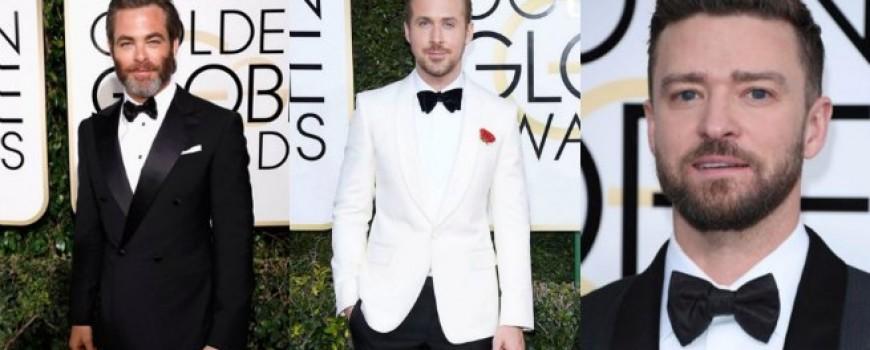 """Glumci koji su """"prošetali"""" najlepše brade na dodeli Zlatnog globusa 2017."""