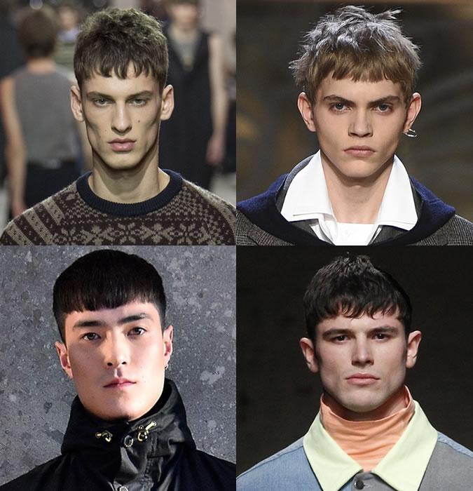 hair17trendsblunt 4 ključna trenda za muške frizure sa Nedelja mode