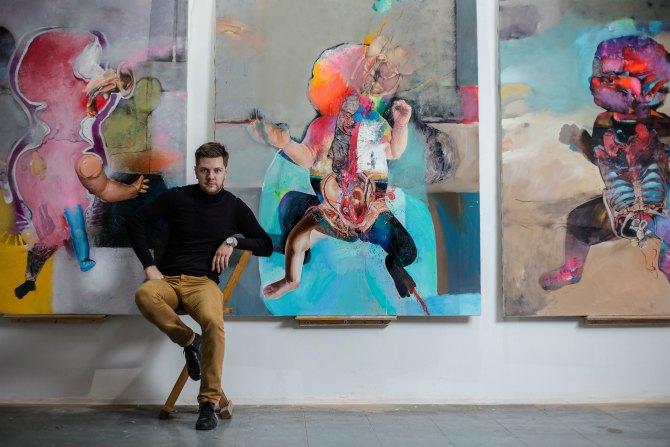 marko kusmuk 2 Intervju: Marko Kusmuk, slikar