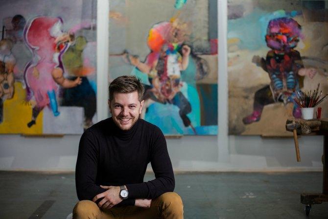 marko kusmuk 3 Intervju: Marko Kusmuk, slikar