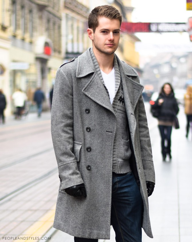 street style man 1 Borba veka: Kardigan VS. džemper