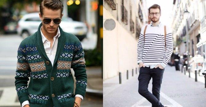 style Borba veka: Kardigan VS. džemper