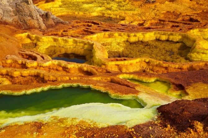 danakil pustinja Najopasnije turističke destinacije na svetu