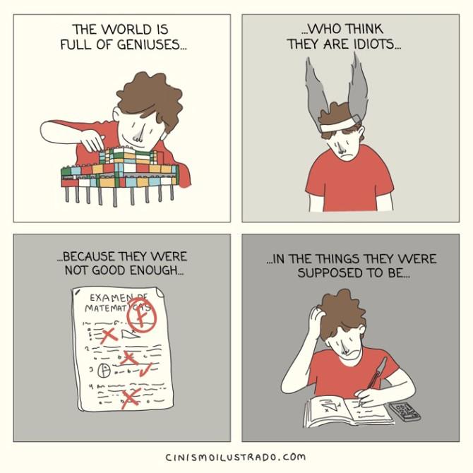 ilustracije 1 Brutalne i iskrene: Ilustracije o životu u modernom svetu