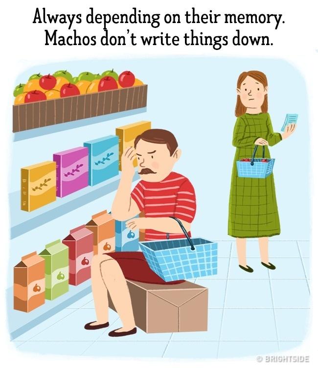 ilustracije 10 Greške koje muškarci stalno ponavljaju a žene izluđuju (ILUSTRACIJE)
