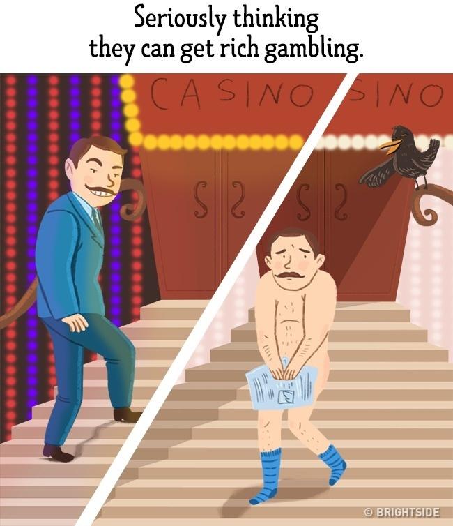 ilustracije 5 Greške koje muškarci stalno ponavljaju a žene izluđuju (ILUSTRACIJE)