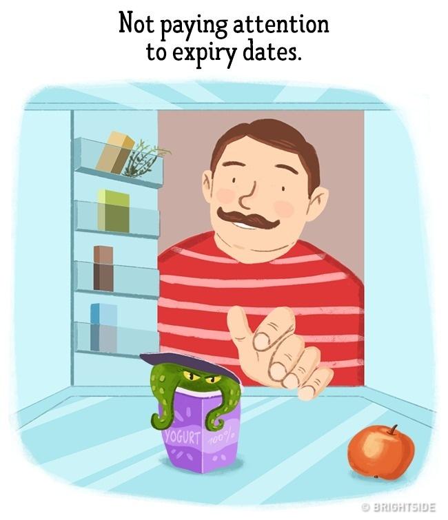 ilustracije 7 Greške koje muškarci stalno ponavljaju a žene izluđuju (ILUSTRACIJE)