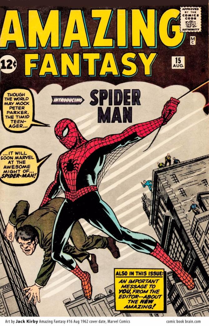 1962 Original Spajdermenov kostim kroz generacije