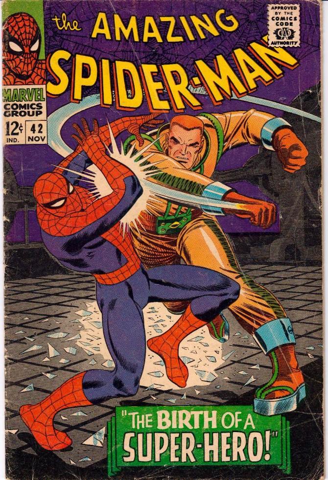 1966 Klasik Spajdermenov kostim kroz generacije
